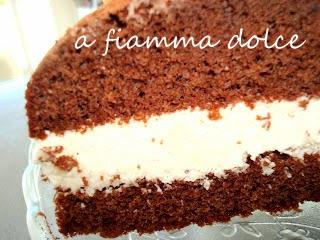 torta al cioccolato con cocco