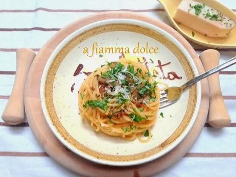 spaghetti lardellati