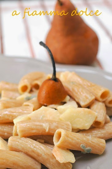 pasta pere e gorgonzola