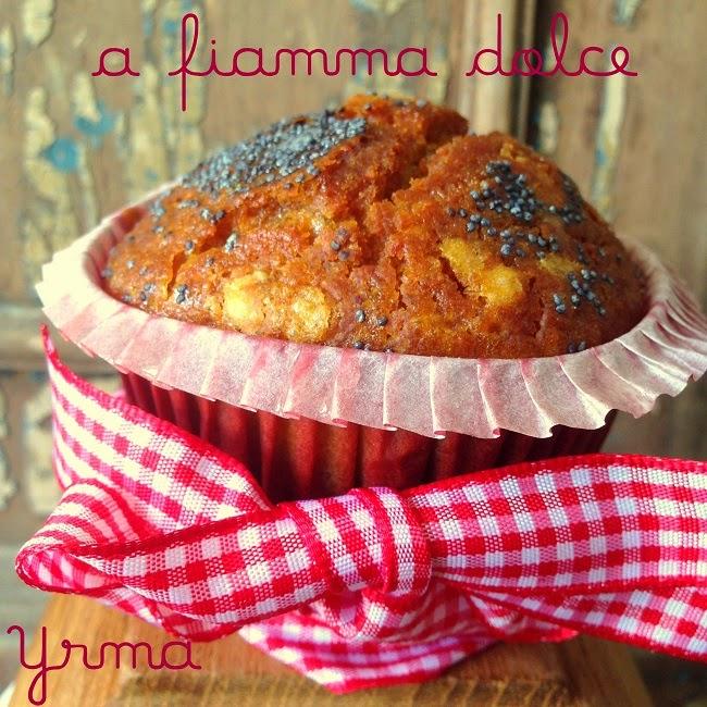 muffins semi di papavero e limone veg