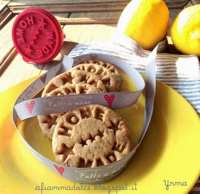 biscotti al limone senza uova e latte