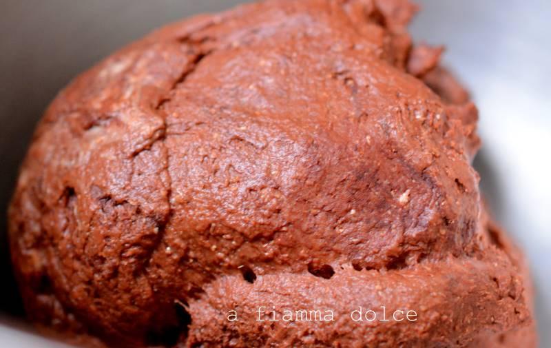 impasto al cacao brioche bicolore