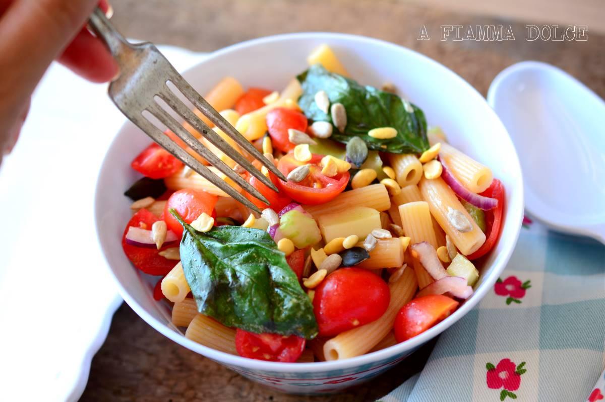 pasta fredda ai pomodorini