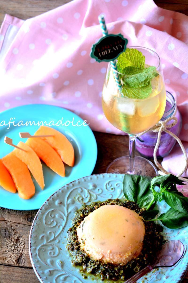 budino al melone