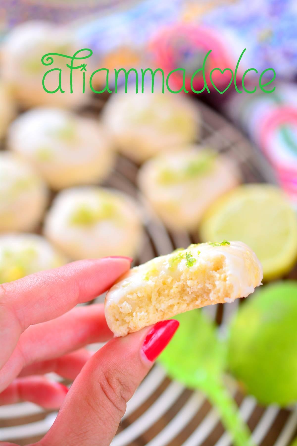 biscotti vegan al lime