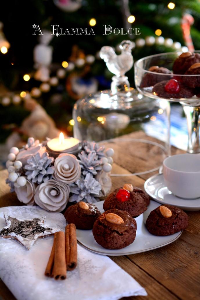 biscotti cacao e mandorle facili e veloci