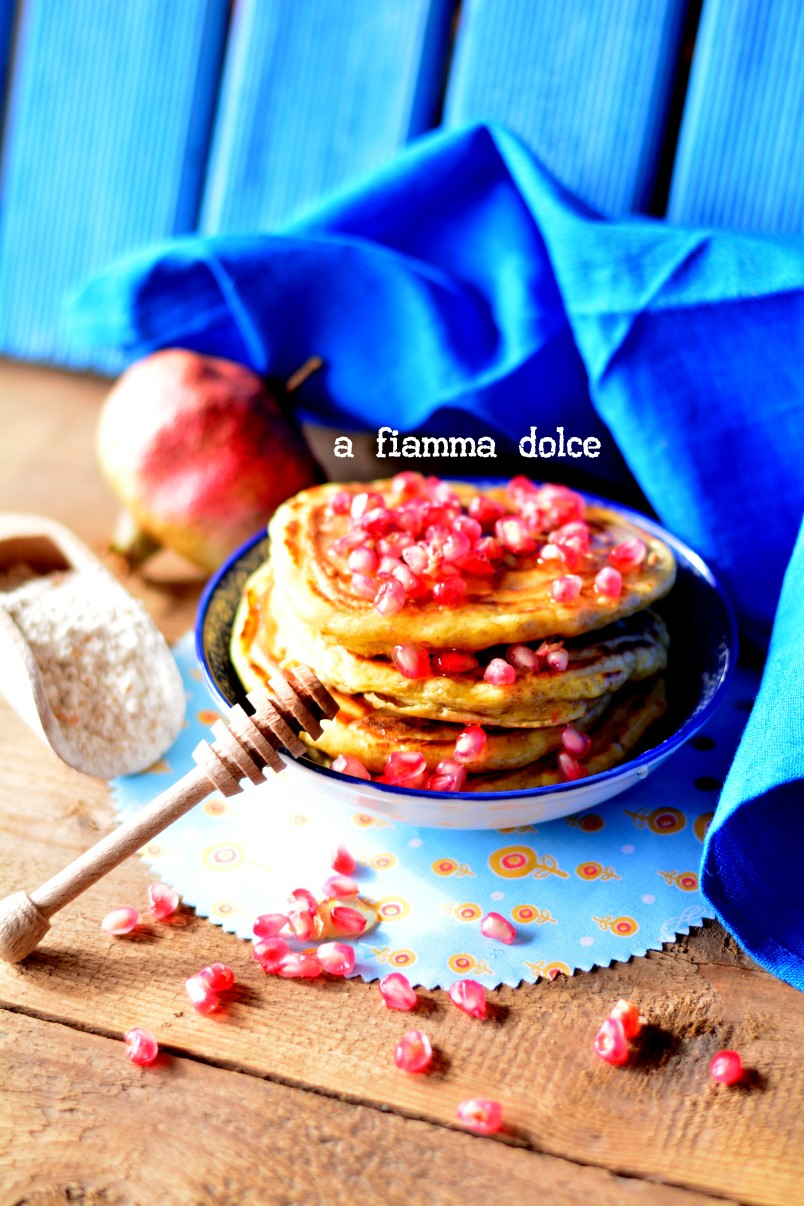 pancakes vegani integrali e light